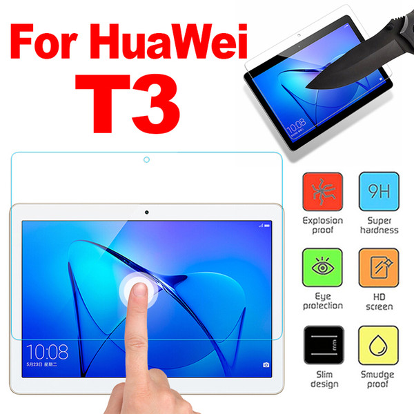 Film de verre trempé pour Huawei MediaPad T3 7.0 9.6 pouces Protecteur d'écran comprimé verre trempé