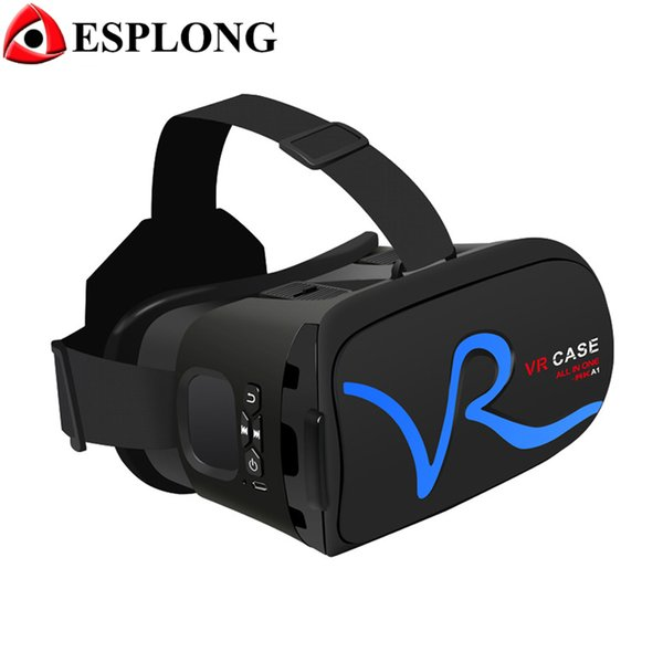 RK-A1 Smartphone VR CASE Box Virtual Reality 3D VR Glasses Cardboard for Xiaomi Samsung S6 S5 For iPhone 5 6S plus 4.0-6 inches