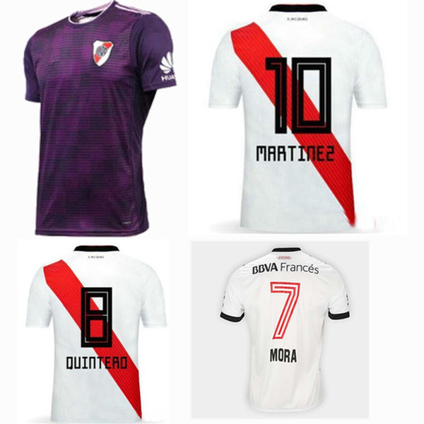 464873129 RIVER PLATE AWAY SOCCER JERSEY 2018-2019 ALL SIZES Christmas presents