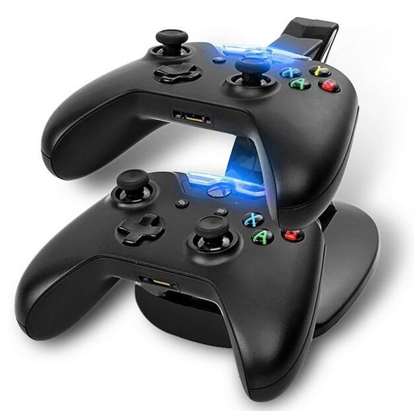 лучший отдельный LED Dual USB зарядка быстрая зарядка адаптер стенд док-станция зарядное устройство для двойной Xbox Один XboxOne игровой контроллер