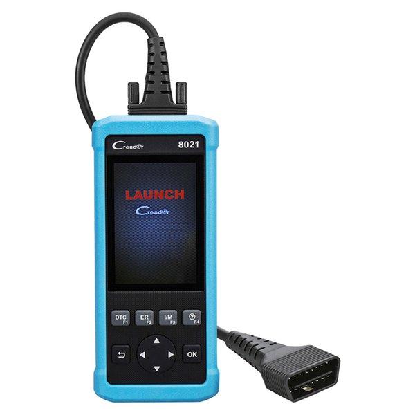 Lanzamiento de CReader CR8021 Automotive Scanner Diagnostic Tool con ABS / SRS / EPB / SAS / BMS y Oil Service Light Restablece las funciones OBD / EOBD