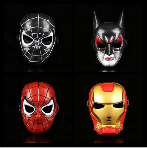 Film Theme Masks Iron Man Spider Man Batman Mask For Men Children