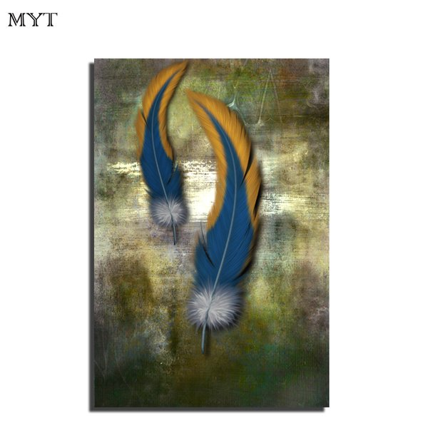 2019 Handmade Oil Painting Modern Animal Canvas Wall Art Wings Art Picture Kid Room Wall Decor Art Images Oil Painting For Sale From