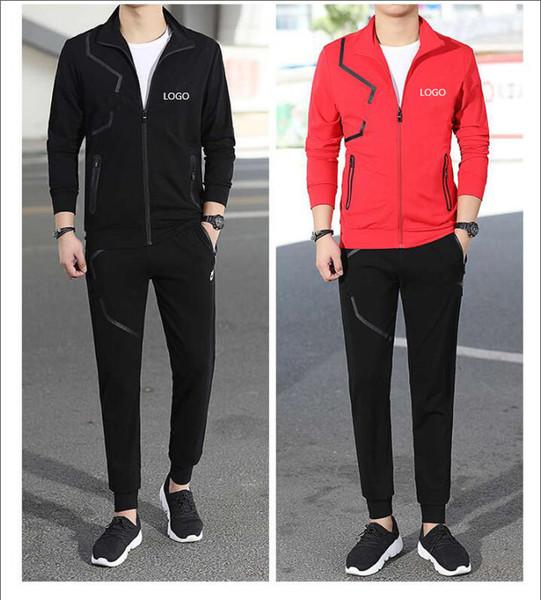 Marke Trainingsanzüge neue Mode Luxus Männer Casual Trainingsanzüge Herren Sweatshirt Sportswear Herbst Männer Zipper Jacke und lange Hosen