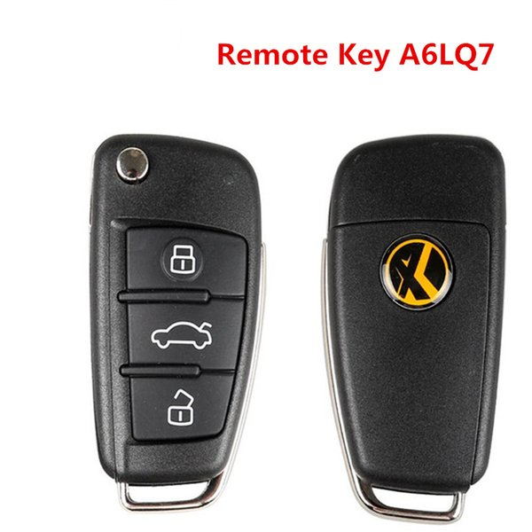 Hot Universal Remote Key 3 Buttons For Audi A6L Q7 Type Remote Key Shell Chip For VVDI2 With Best Price X003 Wire Remote Key