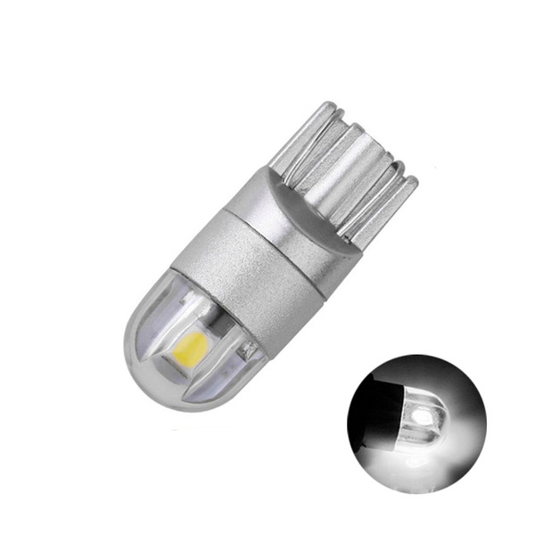 12v white bule red yellow Green pink w5w 168 194 T10 2SMD 3030 Wedge base led automotive Clearance Instrument marker dome Light Bulb