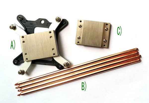 1150 1151 1155 platform heat conduction system with 4PCS 6X250 heat pipes
