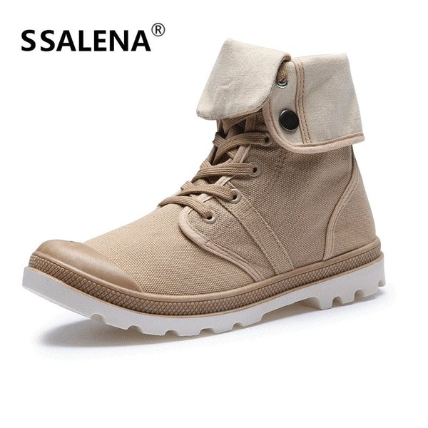2018 Flat Heel Men's Shoes Autumn Winter Ankle Boots Male Snow Boots Casual British Style Men Canvas Shoes AA50102