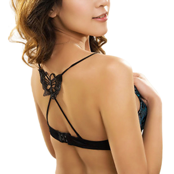 21143cd6c49db bra back strap accessories Coupons - Hot Sale New Women Girls Sexy Lace  Butterfly Flower Decorative