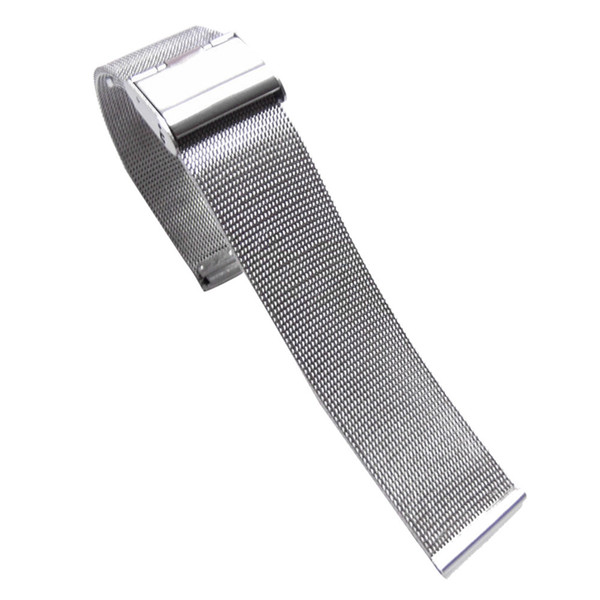 WatchBands 18mm/22mm/24mm Black 2016 New Arrival Fashion Milanese Stainless Steel Wrist Watch Band Strap