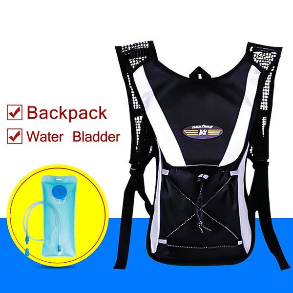 Trail runner 2 Liter Vest Hydration Backpack Camel Pack Perfect for Skiing Running Cycling Biking Hiking Climbing and Hunting