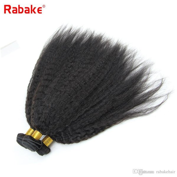 8-28 inch Raw Indian Coase Yaki Kinky Straight Virgin Human Hair Weave Bundles Bulk Rabake Hair Extensions South Africa Whosale Deals