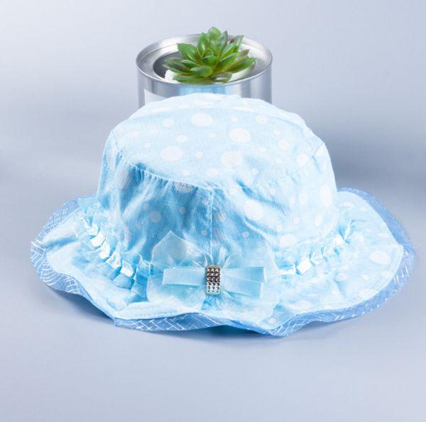 2018 New Hot Kids Sun Hat 14 Styles Hair Accessories Baby Hat Princess Sunscreen Summer Girl Children Flower Sun Hat