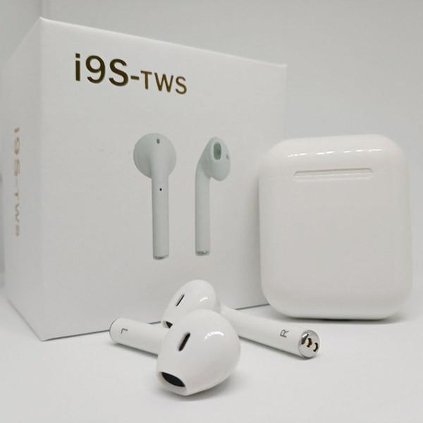 26d931004c2 I9S TWS Wireless Bluetooth Headphones wireless earbuds earphones Bluetooth  headset Charging Box For iphone 8 samsung