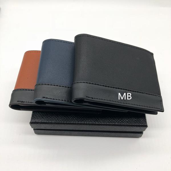 Мужская новая кожа бизнес кошелек короткие многофункциональный MB роскошный пода