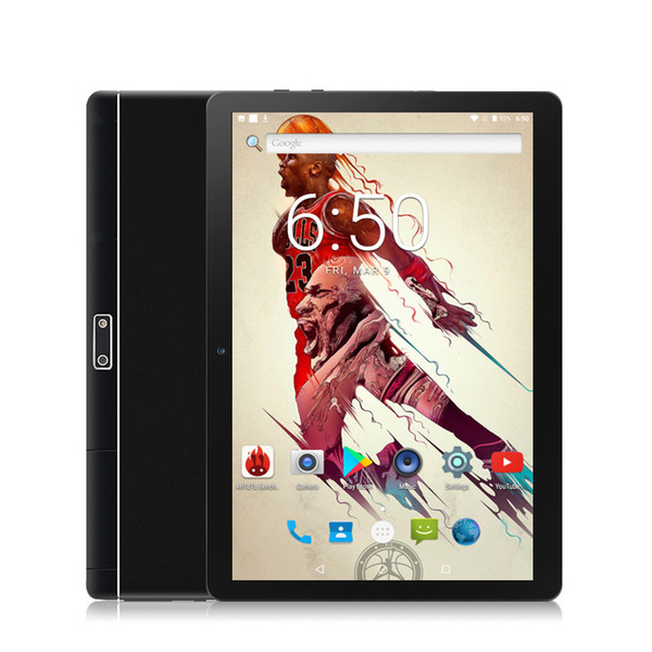 Free shipping Popular 10 inch Octa Core Tablet PC Android 7.0 Dual Camera SIM FM GPS Bluetooth 4 Colors 4GB 32GB Phone tablet 10