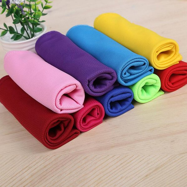 Face Towel 1PC Ice Towel Sport Utility Enduring 90*30cm Instant Cooling