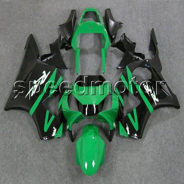 colors+Gifts green black motorcycle cowl Fairing for HONDA CBR900RR 2002 2003 CBR954RR 02 03 ABS plastic kit