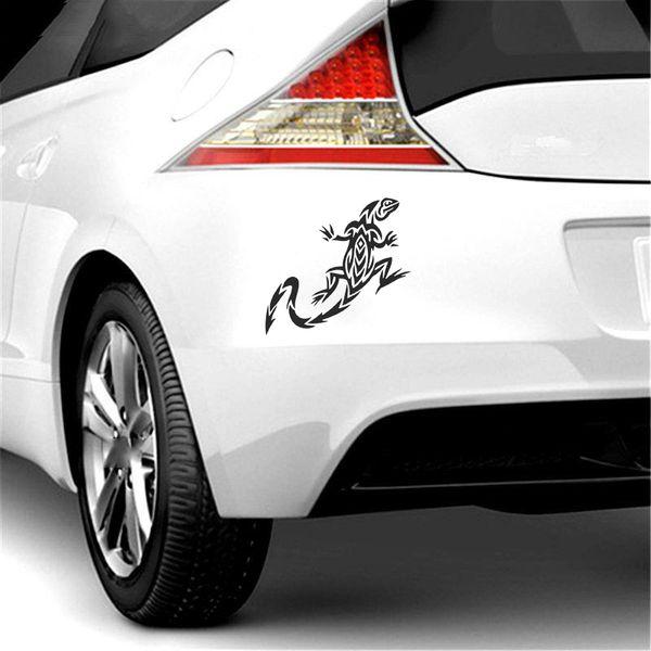 15*14.2cm Tribal Tattoo Lizard Decal Vinyl Cute Interesting Fashion Car Sticker Laptop Window Car Truck