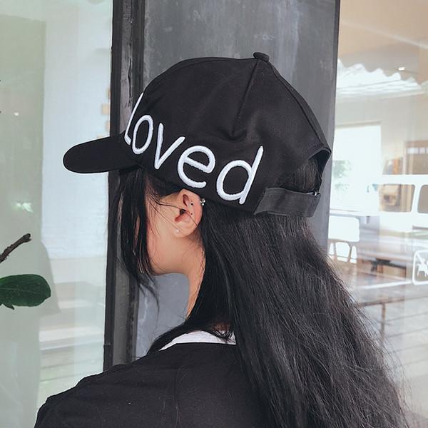 10 unids / lote 01807-lin754 moda amada nueva york letras bordado ocio gorra hombres mujeres sombrero de béisbol al por mayor