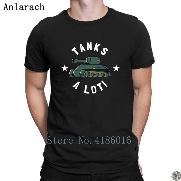 Tanks Alot tshirts Casual Designs Top Quality great men's tshirt 2018 Unique plus size 3xl Anlarach Costume