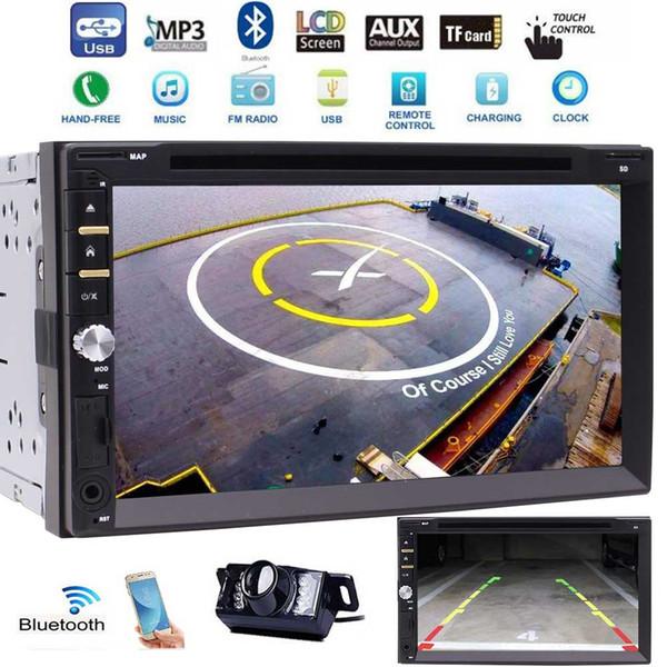 Autoradio stéréo double autoradio stéréo 2Din 3 UI facultatif Écran tactile autoradio Bluetooth 7 '' DVD / CD USB / SD AM / FM MP3