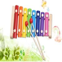 Wooden Hand Knock On Piano Child Octave Knock Percussion Instrument Set Baby Puzzle Parent-Child Exchange Early Childhood Toys.
