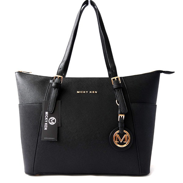 elegant women bag large shoulder bag good quality handbag with cross stripe PU leather big mom bags