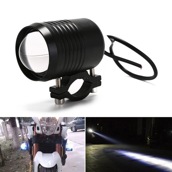 U2 Upper High Low Beam faros de la motocicleta Moto faros bombillas LED conducción de la motocicleta faro antiniebla lámpara de destello