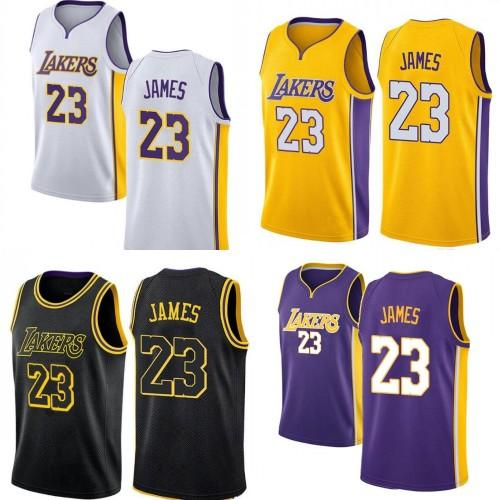 online store ae0f2 81dbe 2018 23 Lebron James Jersey Men 2018 New City Edition Embroidery Stitched  Yellow Purple White Black Youth Jerseys From Jersey_china, $26.4 | ...