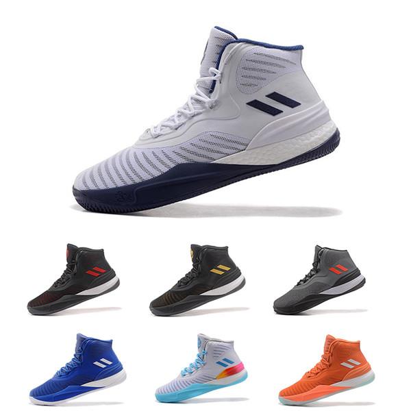 adidas D Rose 8, Chaussures de Basketball Homme