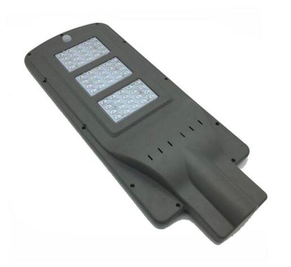 Hi-Q LED Solar Street Lights 20w 40w 60w AC 85-265V Radar Sensor Photocell Sensor Led road lamp Lights Waterproof ip65 Outdoor Lamps