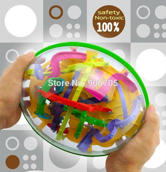 Bloques Magic Maze 299 Steps Magic Maze Ball Perplexus Magical Intellect Ball Juguetes educativos Mármol Puzzle Game Perplexus Balance Toy