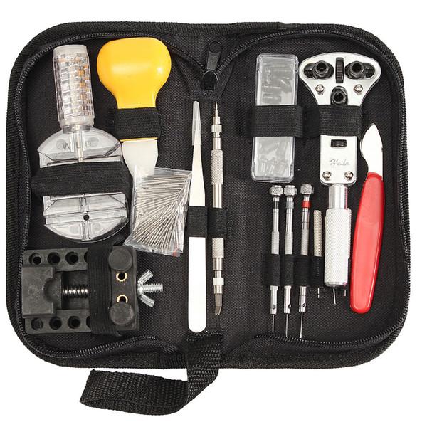 144 Stücke Uhr Tools Uhr Opener Repair Tool Kit Uhr Repair Tool Kit Gehäuseöffner Link Pin Remover Set
