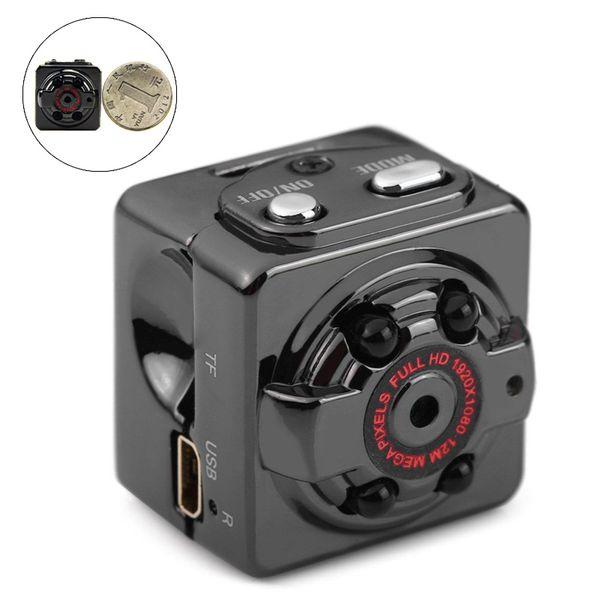 SQ8 1080P Full HD Mini Camera 12MP Infrared Night Vision HD Sport Digital Micro Cam Motion Detection Camcorder Recorder Mini DV
