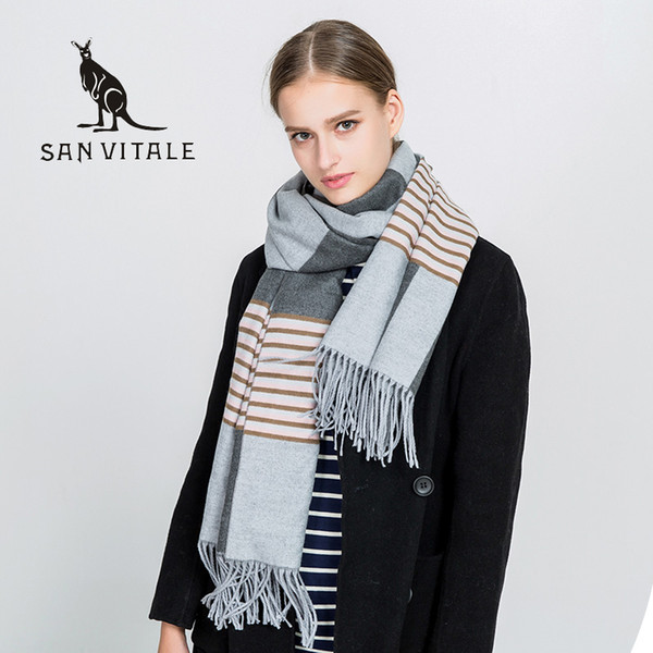 Scarves Women's Scarf Classic Style Ponchos And Capes For Ladies Designer Top Quality Casual Apparel Cashmere Winter Warm Shawl