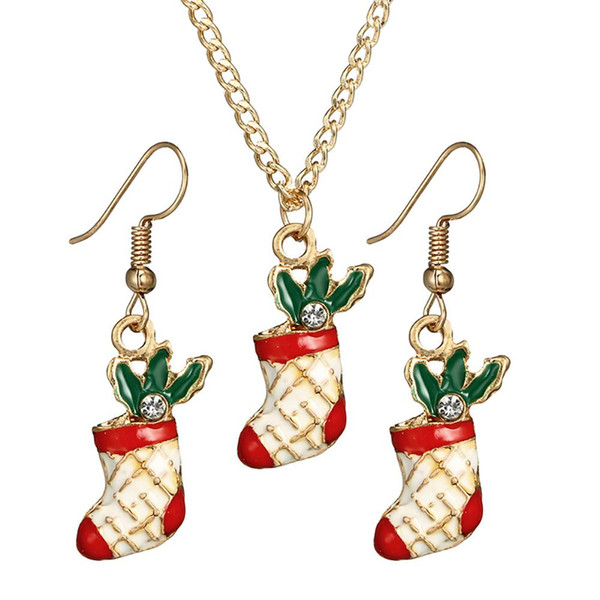 Conjunto De Dos Par copo de nieve y árbol de Navidad cuelgan pendientes hermoso Xmas Diseño