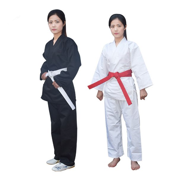 top popular wholesale unisex judogi kids and adults all suitable full size Judo suit jiu jitsu dobok Judo uniforms with belt 2020