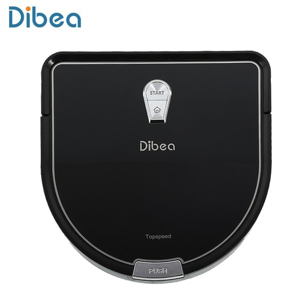 Dibea Robot Vacuum Cleaner Smart with Wet Mopping Robot Aspirador with Edge Cleaning Technology for Pet Hair Thin Carpets TB