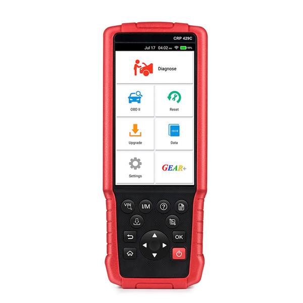 LAUNCH X431 CRP429C OBD2 Code Reader Scan Tool Engine/ABS/Airbag/AT Support Reset Function Oil Reset EPB SAS ABS BMS