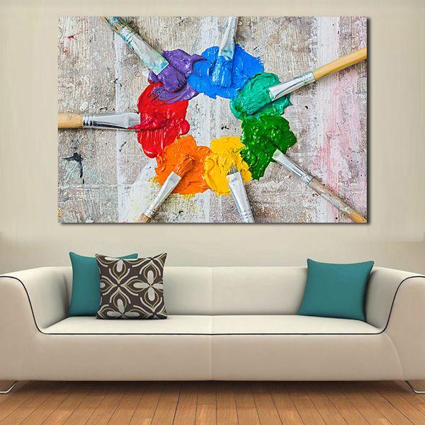 Acheter Peintures Pour Le Salon Brosses Et Peinture à L Huile Mur Peintures Sur Toile Peinture à L Huile Mur Photos No Frame De 25 52 Du