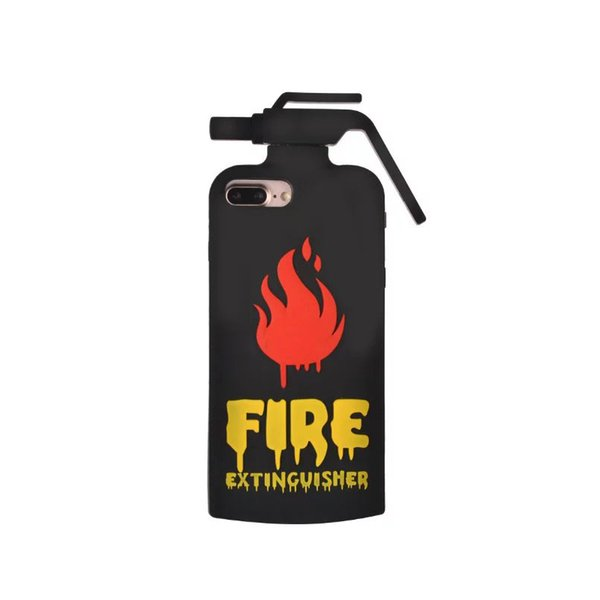 """Wholesale Silicone Case For iphone 6 6s Plus 7plus 5.5 inch 4.7"""" Case 3D Fire Extinguishers Phone Case Back Cover For iphone 7"""