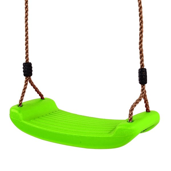 Plastic Swings Seat Outdoors Home Garden Tree Swing Kindergarten Playground Park Kids Fun Game - 43*17cm