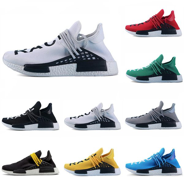 brand new 08cd4 6259d Cheap human race running shoes yellow black red grey white ...