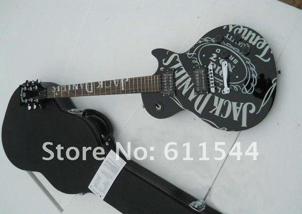 Großhandel Neueste Neueste Schwarze Jack Daniels Elektrische Gitarre Freies Verschiffen Von Aidao, $215.08 Auf De.Dhgate.Com   Dhgate