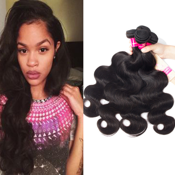 8A Remy Peruvian Indian Malaysian Brazilian Virgin Hair Weave Bundles Straight Body Wave Loose Water Deep Wave Curly Human Hair Extensions