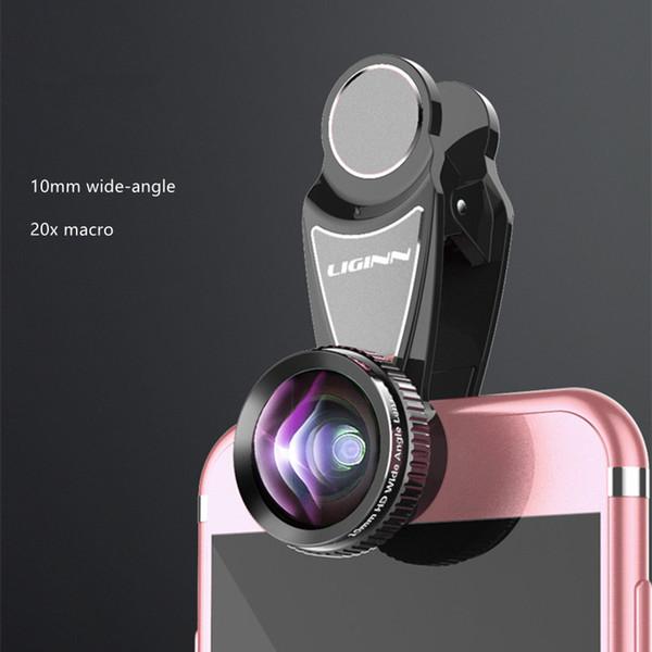 6 7 8 Note8 S8 S9 Hua Wei için LIGINN Optik Zoom 2X Telefoto Lens Cep Telefonu Kamera Teleskop mercek