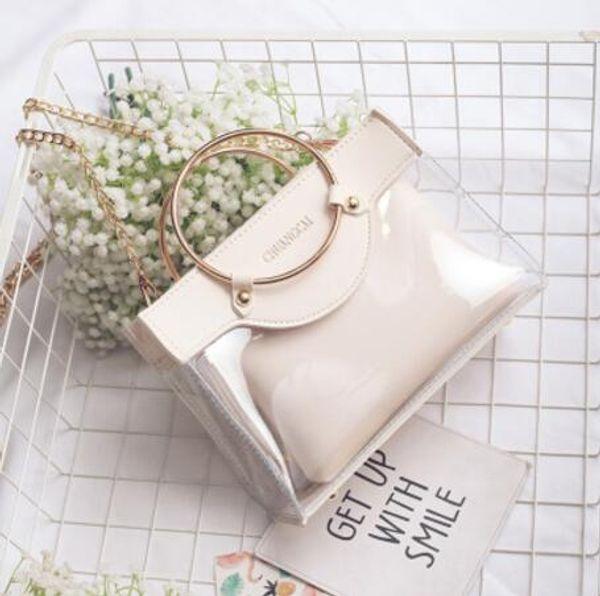 Femmes Designer Style Anneau Métallique Sac à main