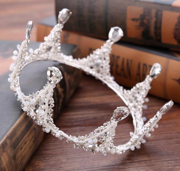 New alloy drill diamond crown bridal crown crown headwear dress accessories