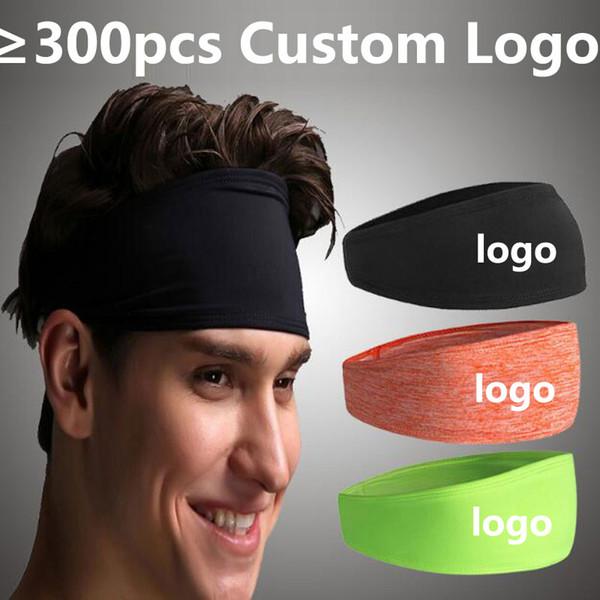 Logotipo personalizado NK Esporte Yoga Gym Bandas de Cabelo Bandana Faixa de Cabelo Esticar Capa Elástica Faixa Elástica
